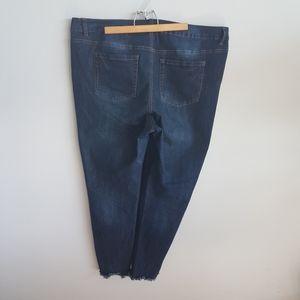 Love & Legend Straight Jeans Raw Hem Size …